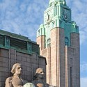 Detail from Helsinki Central Station. Image ©  Jean-Pierre Dalbéra