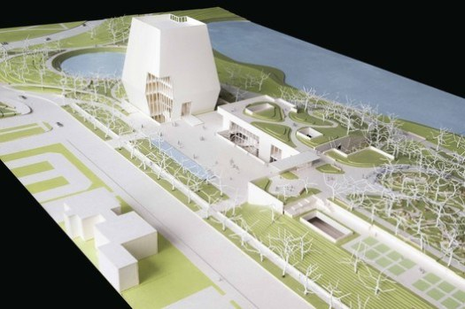 Conceptual Site Model. Image Courtesy of Obama Foundation