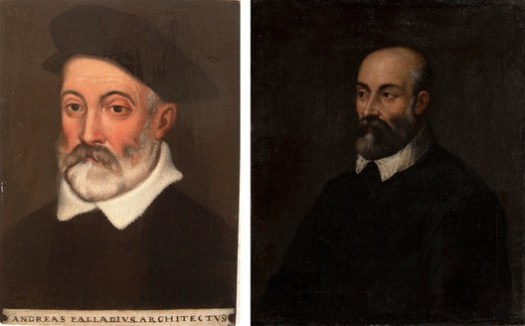 Left: seemingly accurate portrait of Palladio purchased at an antiques store in New Jersey, USA. Right: seemingly accurate portrait of Palladio in a private collection in Moscow, Russia. Image via The New York Times / Palladio Museum